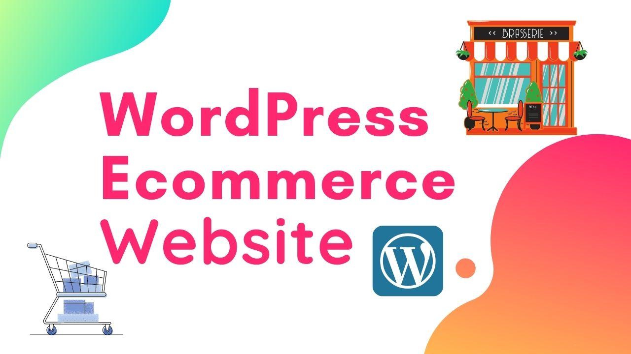 I will develop wordpress ecommerce online shop using woocommerce