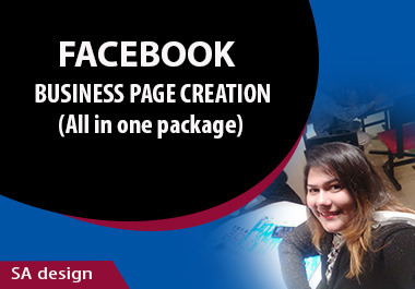 I will perform a Facebook Business Page Creation and optimization for your business.