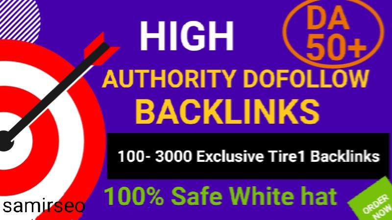 Create 1000 High Authority Do Follow Backlinks