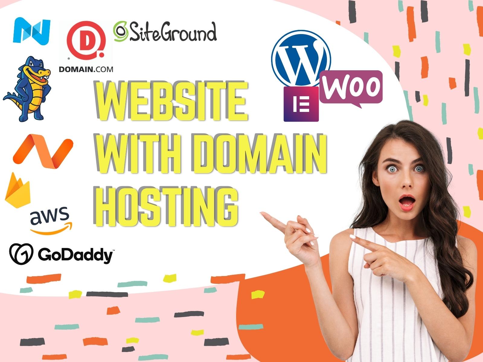 Setup Custom Wordpress Website with ssl Domain Hosting Integration