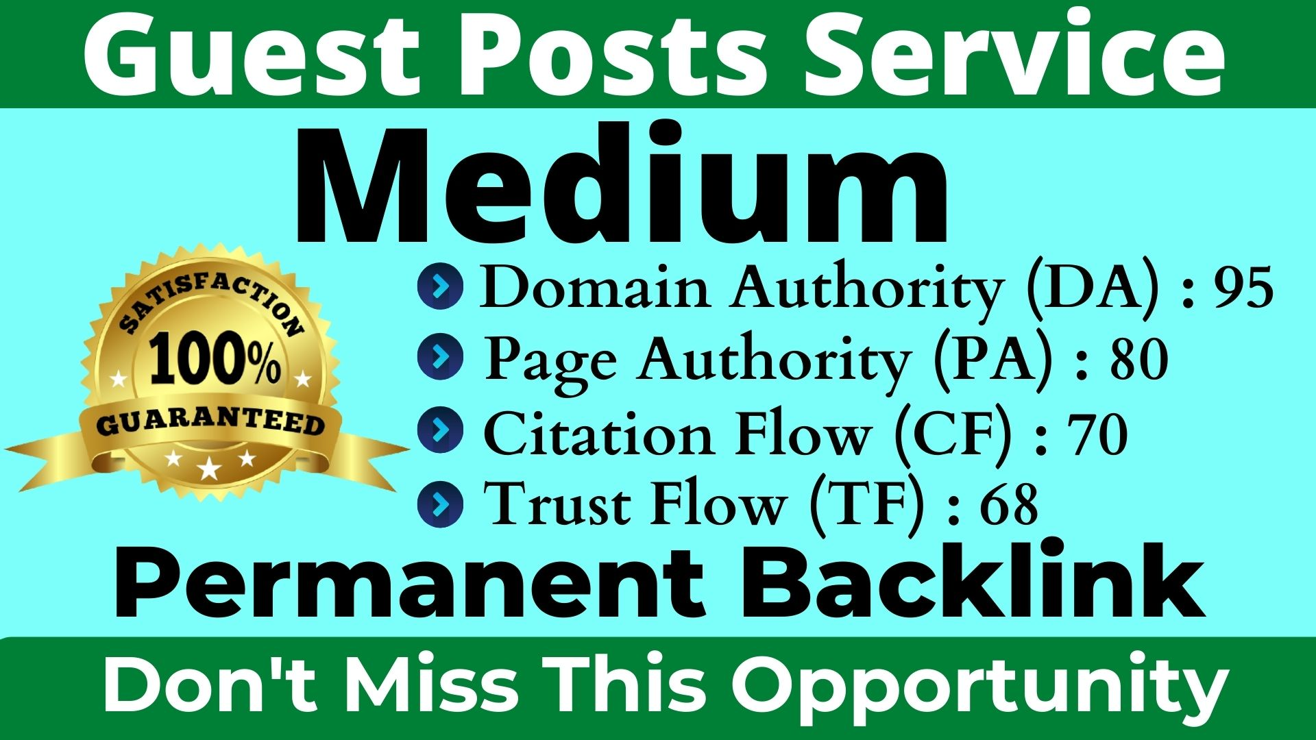 I Will Write and Publish A Guest Post On Medium DA 95, PA 80 With Permanent Backlinks Boost Your Site