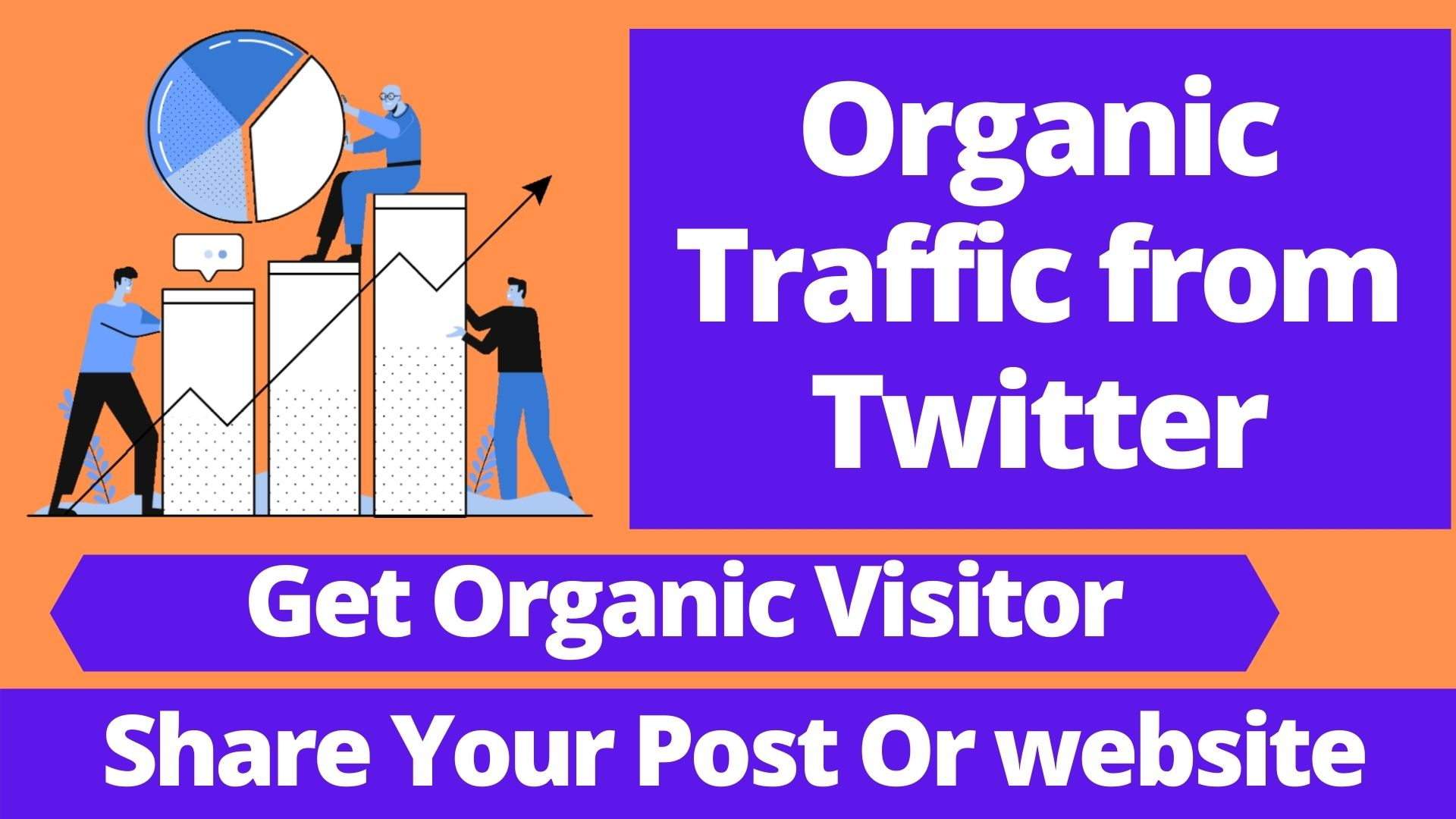 I will Share your Website/ Youtube Link on Twitter for Organic Traffic