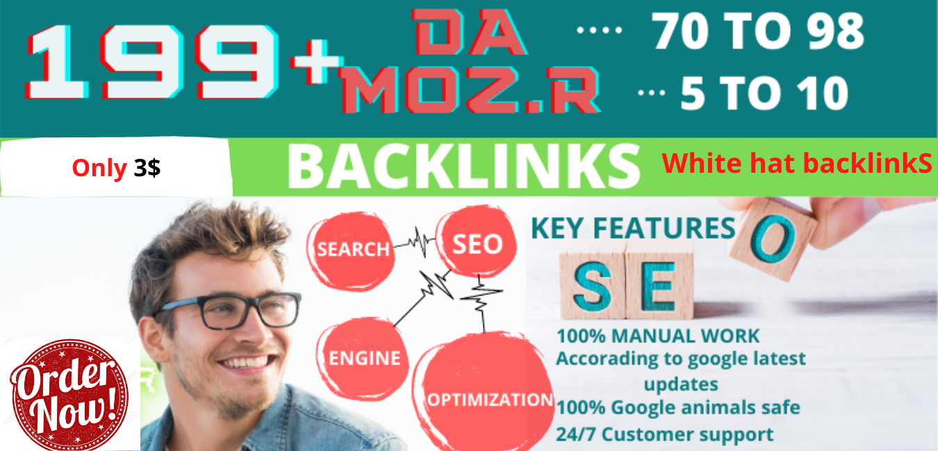 I Will Create 200 high quality DOFOLLOW PR9 or DA 70 to 99+ HQ Google Dominating Profile BACKLINKS