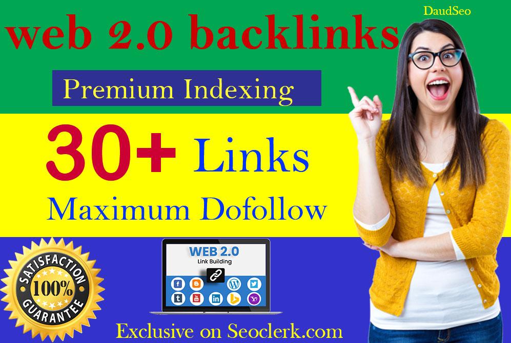 I will create 30 High Authority DoFollow Web 2.0 PBN Profile Backlinks