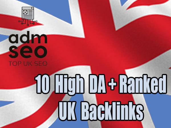 create 15 UK high da and alexa backlinks for google top ranking
