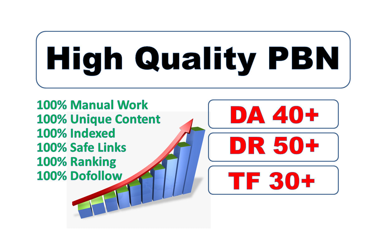 I Will Provide 250 high quality pbn links with high DR,  da pa,  tf cf