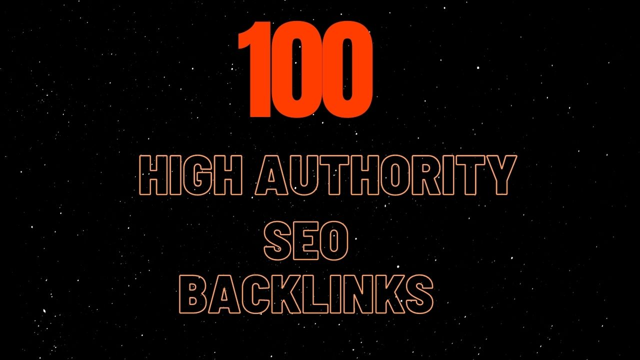 manually create 100 high authority seo backlinks from top brands