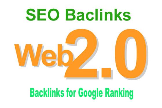 build 65 authority web 2 0 backlinks