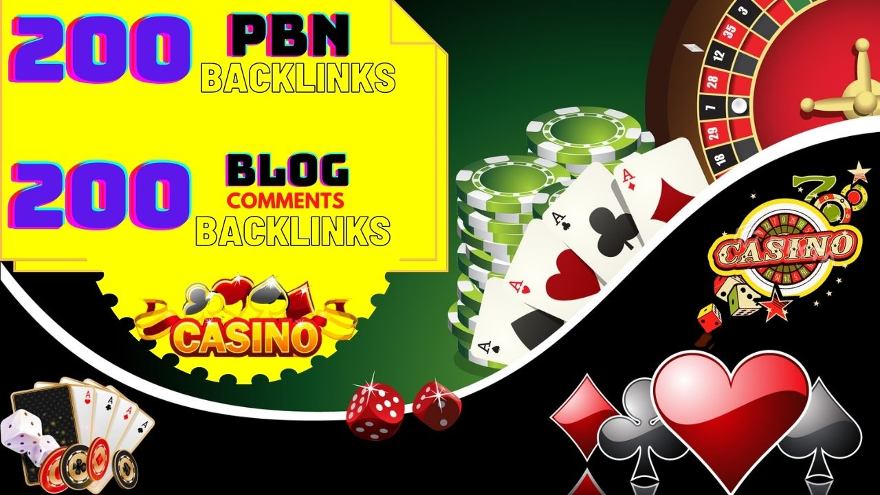 GET 200 PBN Backlinks 200 Blog Comments Backlinks for your Website