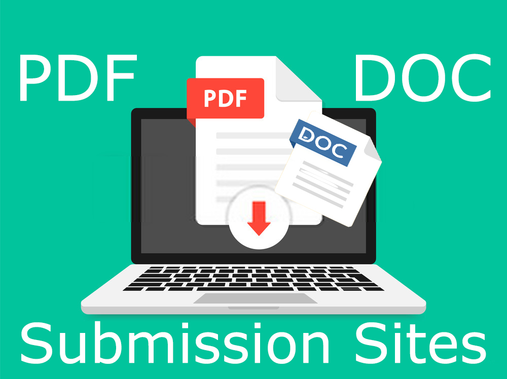 20 Best PDF submission permanent backlinks to rank in google by quality link building