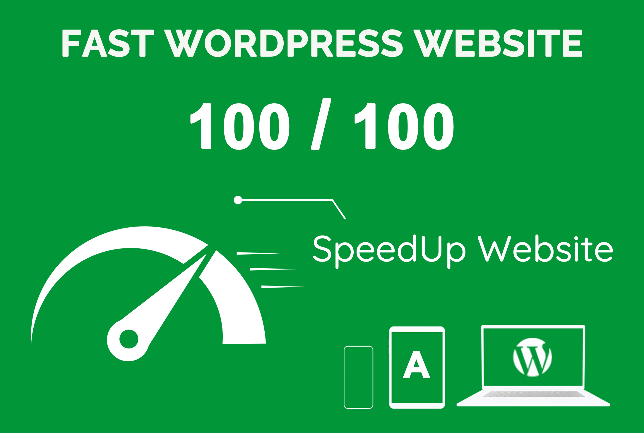 I will optimize wordpress website speed and improve gtmetrix, google pagespeed score