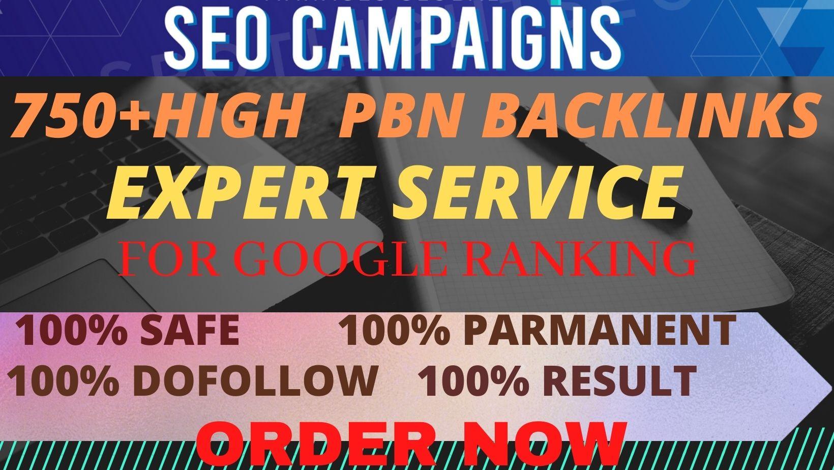 Manually Create 750+DOFOLLOW High PR 1-PR 7+ or DA-40+Highly Authorized Google Dominating Backlinks