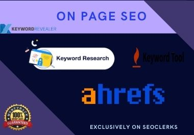 I will do keyword research and competitor analysis for your niche