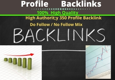 I will create 200 High Authority Profile Backlinks