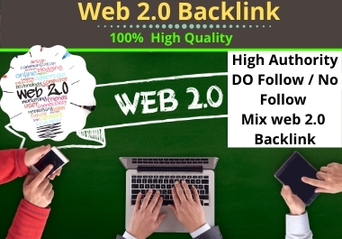 I will build 50 web 2.0 Backlinks for SEO