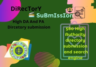 I will do 100 high authority niche directory submission