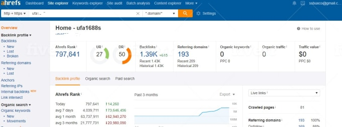 increase DA DR and tf majestic trust flow with high tf dofollow backlinks