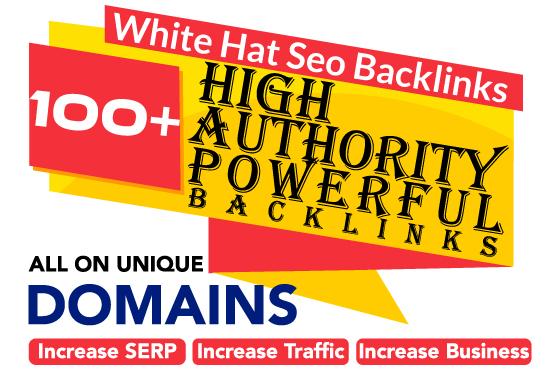I will create high DA 60 plus permanent white hat dofollow SEO backlinks