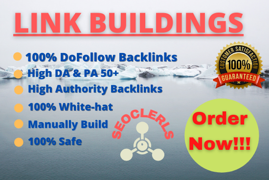 I will build high quality SEO Dofollow backlinks for google top ranking