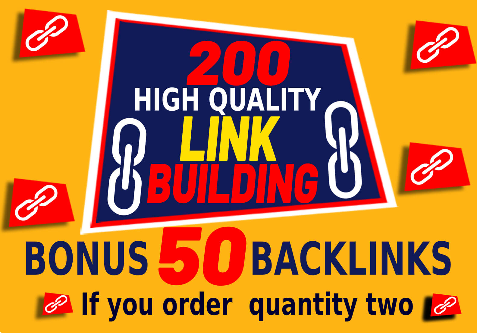 200 High DA SEO Link Building in which includes web 2.0 Blog comment Profile Backlinks creations