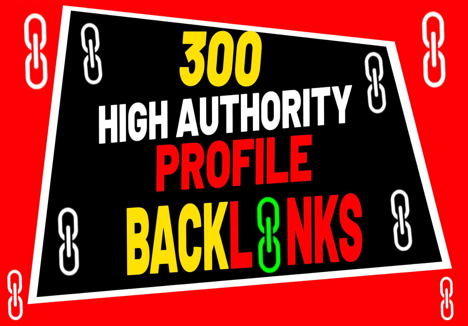 I will do high authority SEO profile backlinks or profile link building submission