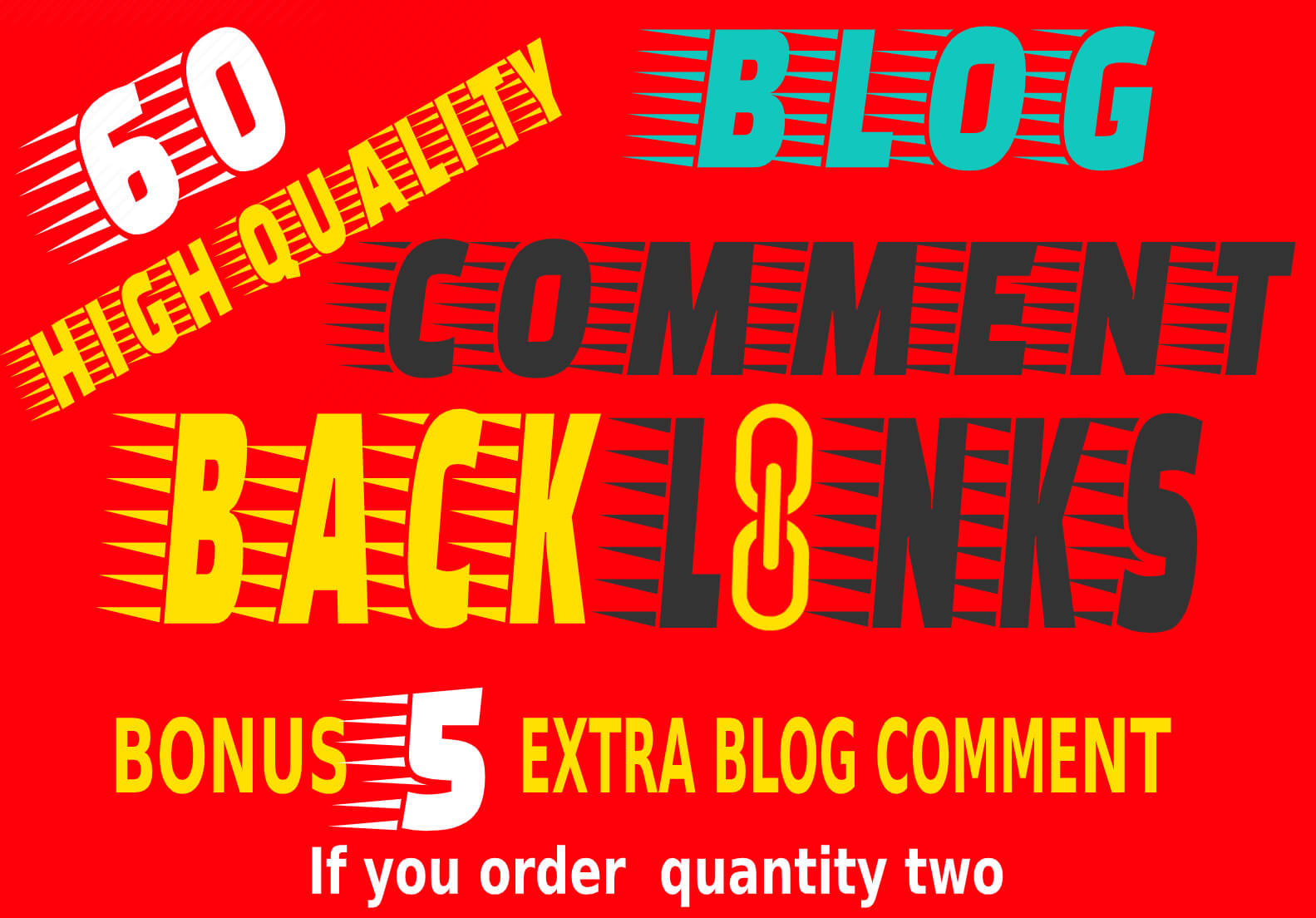 I will do 60 high quality niche relevant SEO blog commenting backlinks