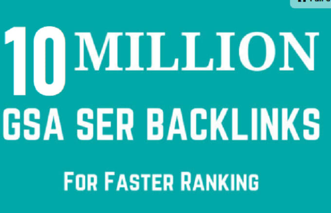 I will create 10 million dofollow SEO backlinks for website ranking