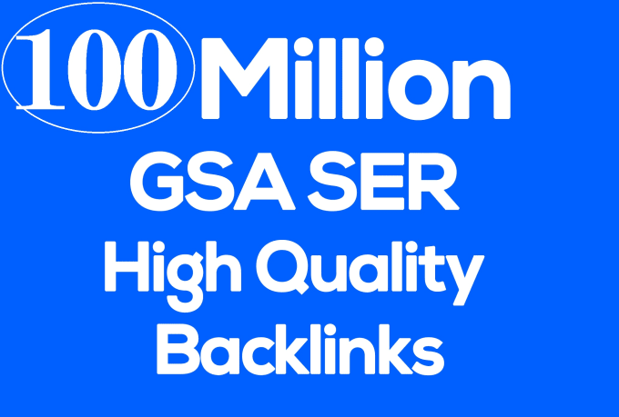 I will do 100 million live check multi tier backlink in 5 days