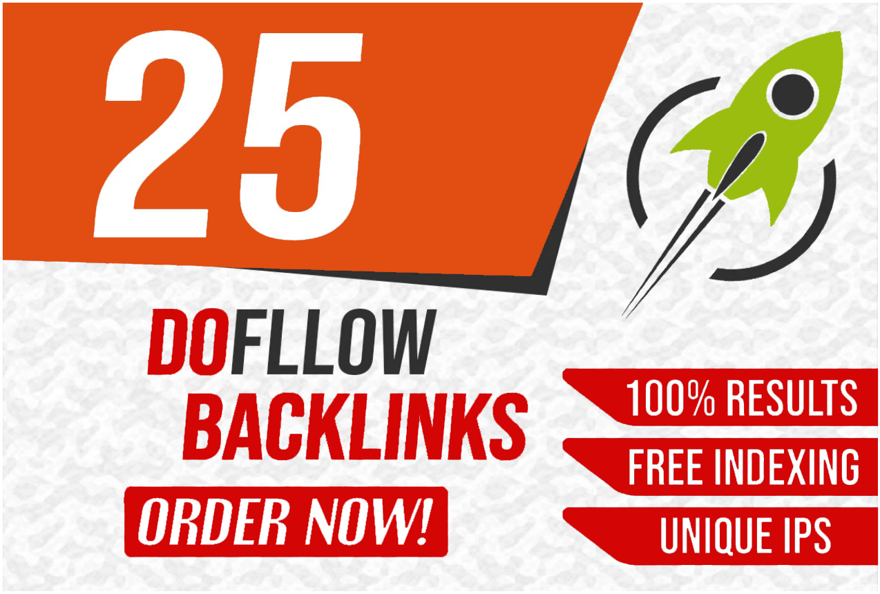 25 Permanent High Quality Dofollow Backlinks