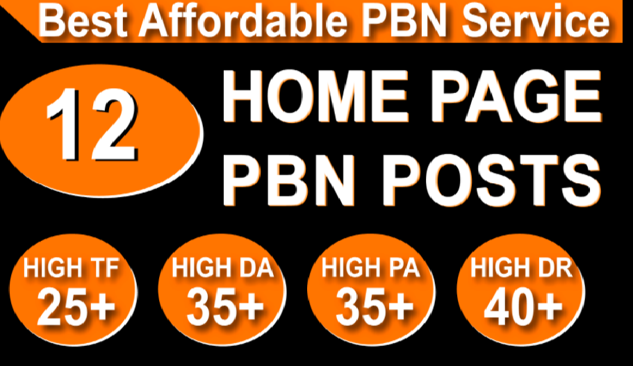 Homepage 12 PBN Backlinks High 20 Plus DA PA CF TF Moz Authority Expired Domain Backlinks