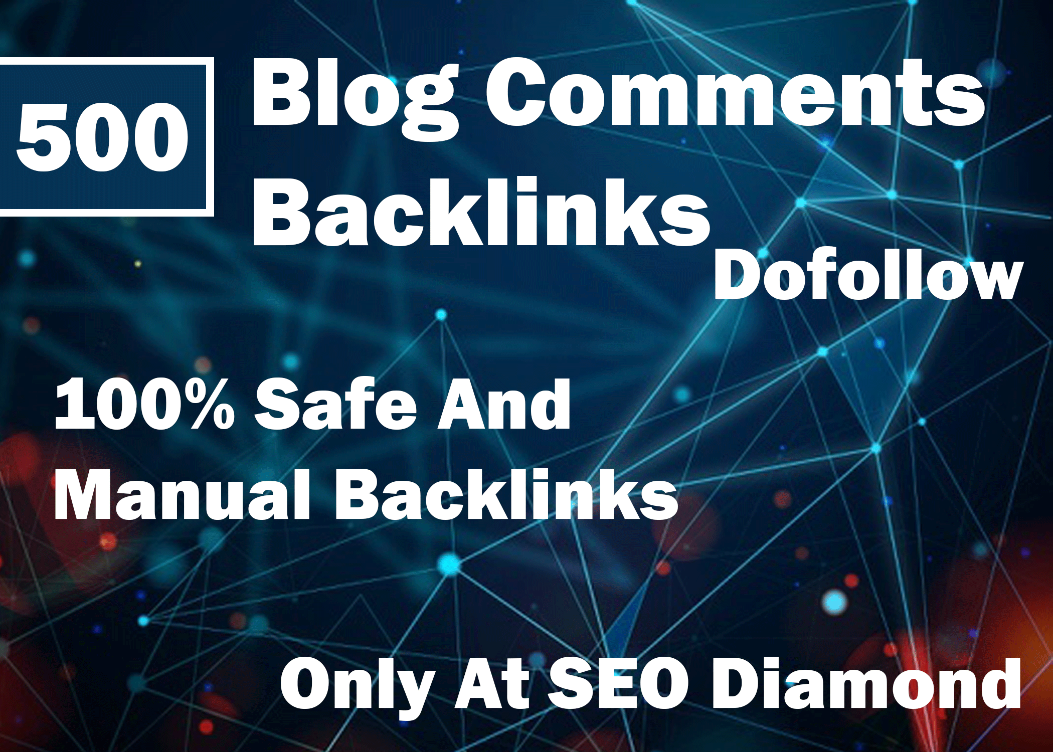 500 Unique Blog Comments With High Quality Backlinks