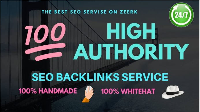 100 high authority mix backlinks DA PA