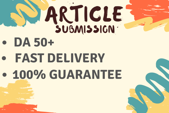 40 Article Submission in very affordable price
