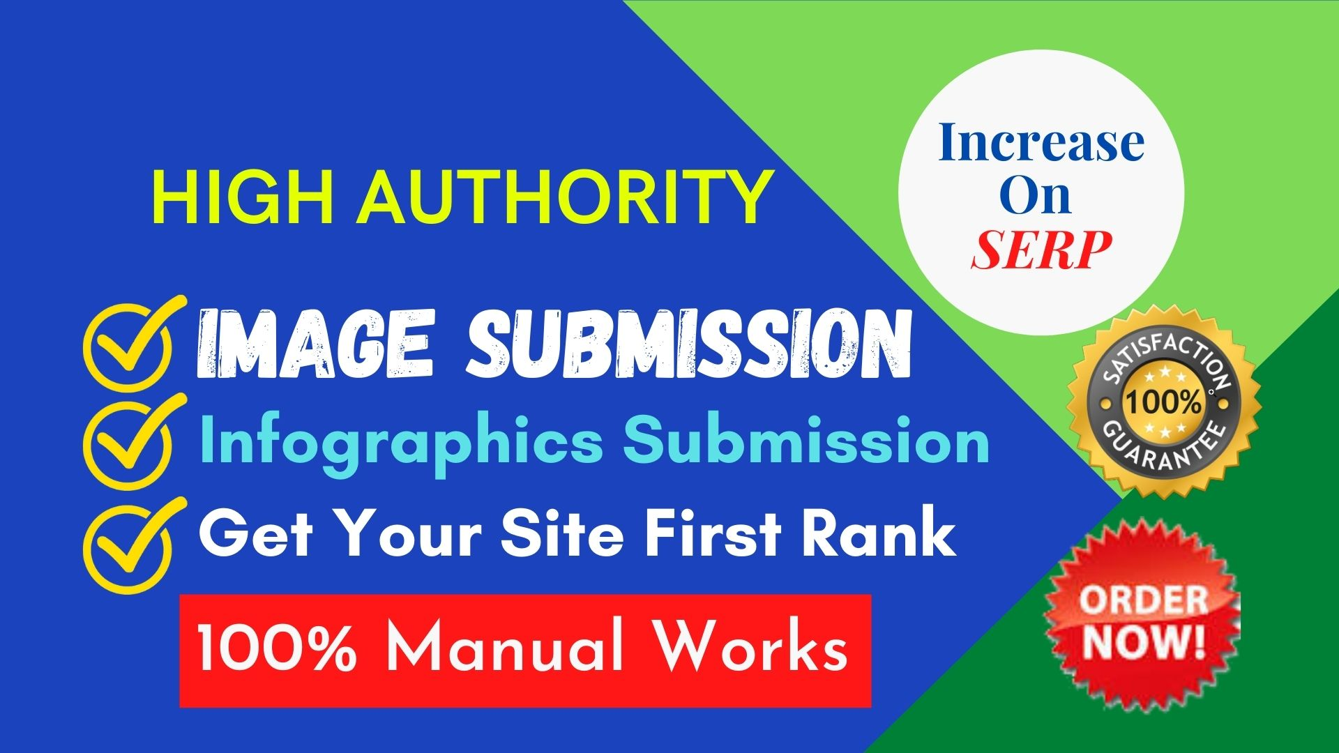 I will work on infographics or image submission for backlinks