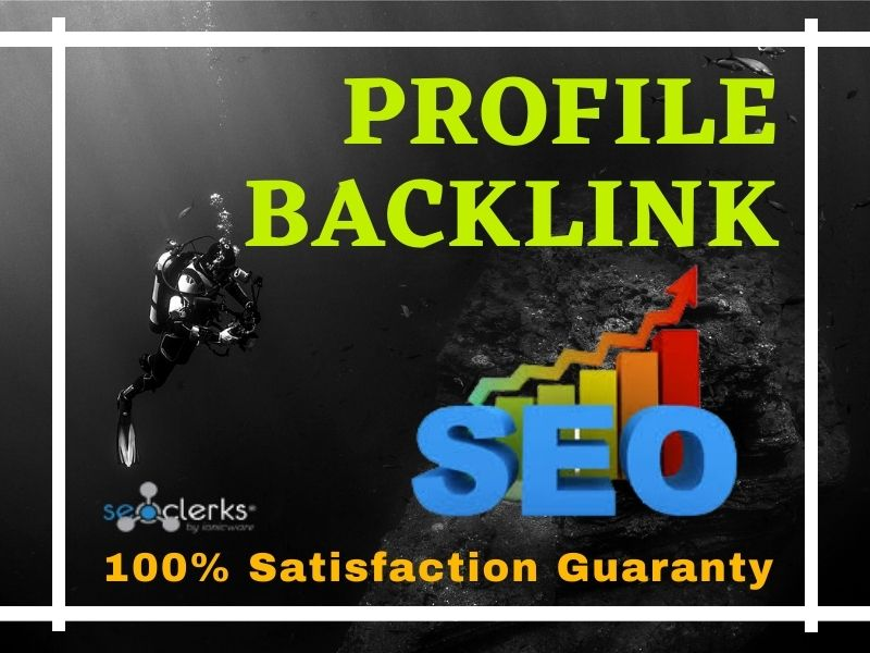 I will do 100+ High-Quality Authority Dofollow Profile Backlinks for SEO Ranking.