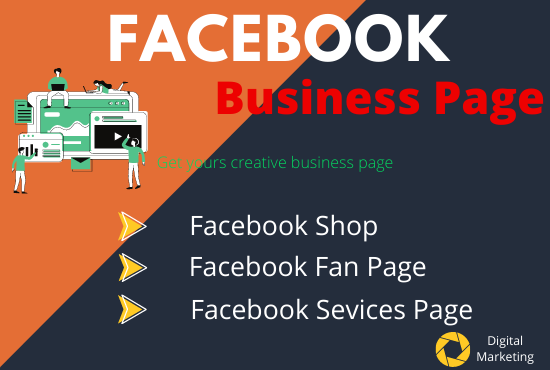 I will do impressive facebook business page creation and setup