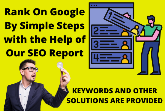 SEO Report of your website in a day