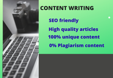 I will manually write 500 words quality blog posts,  SEO articles,  and website content