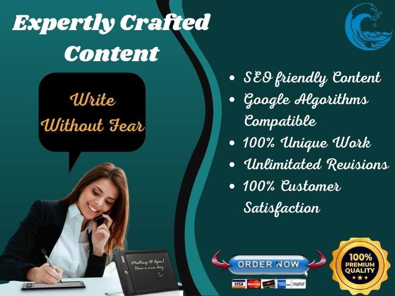I will write 1200 words of professional SEO friendly content for your blog and website.