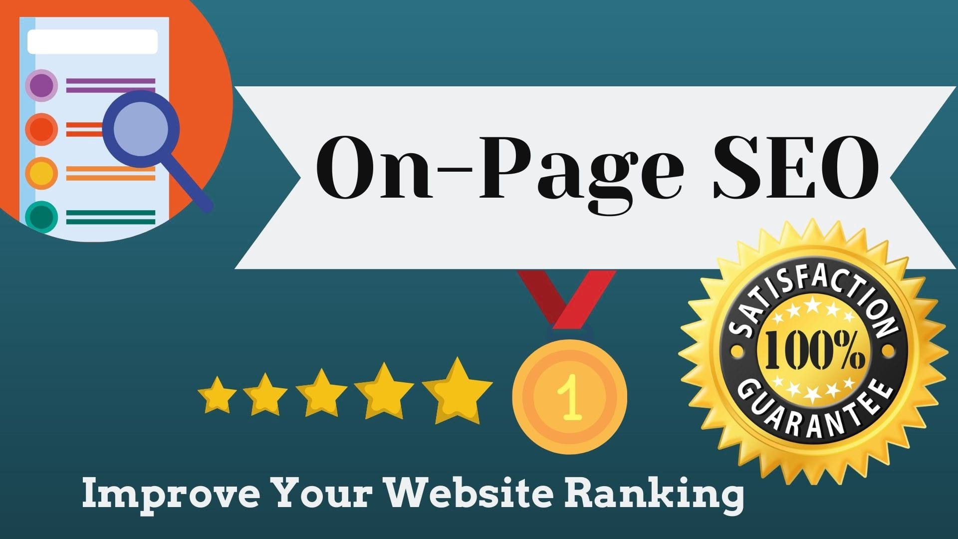 I will do on page seo optimization for your site