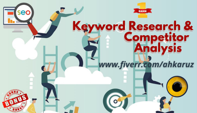 I will provide responsive keyword research to rank your SEO optimization quickly