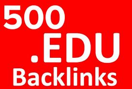 500 Backlinks EDU Forum Profile Link Building SEO Limited Time for 10