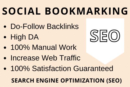 Do 30 Social Bookmarking Backlinks Manually