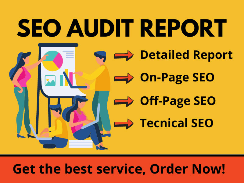 I will create an expert SEO audit report for your website