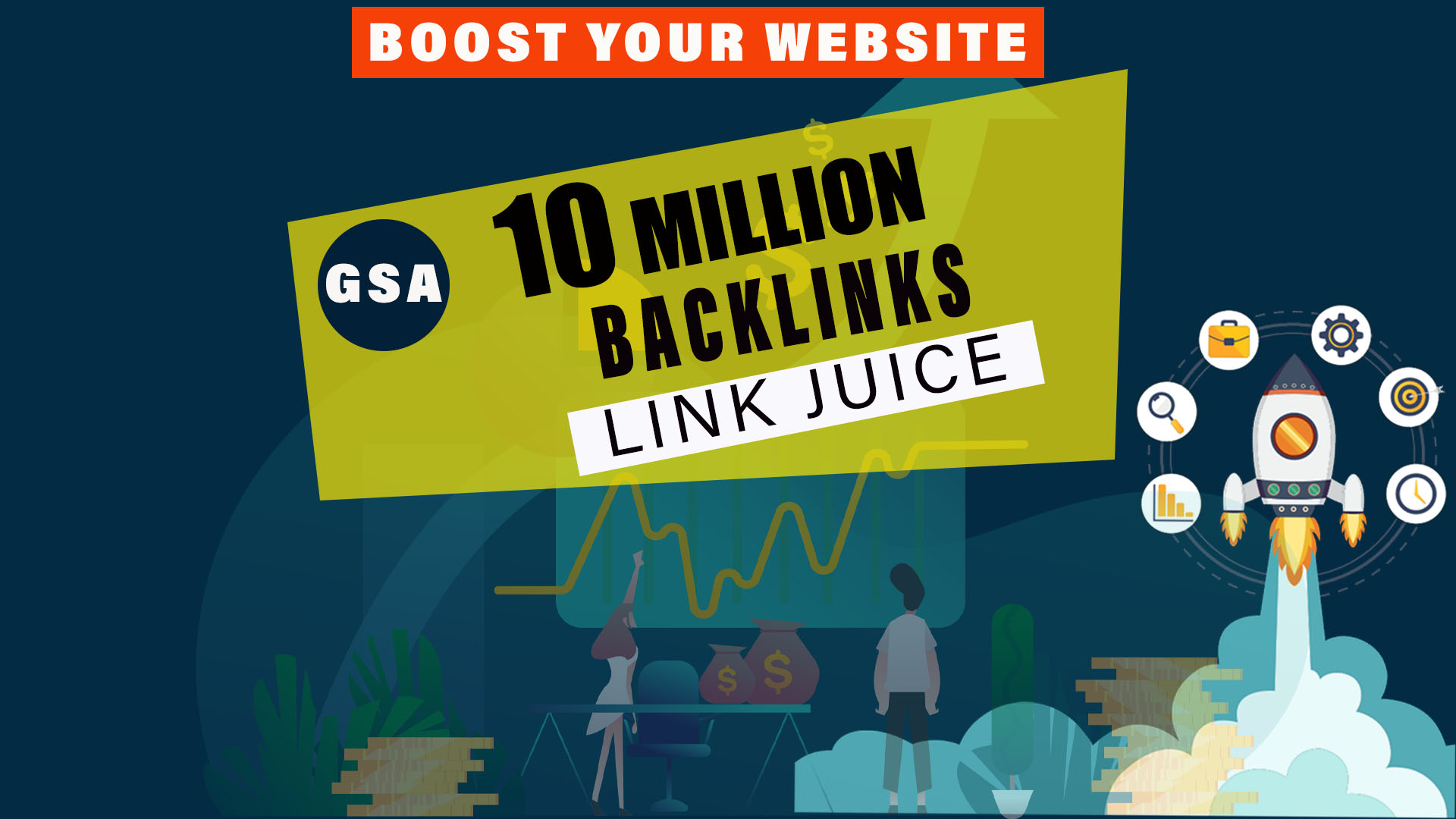 10 million verified and powerfull GSA link juice for SEO service