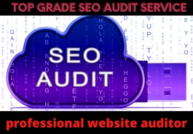 I will audit your website and show problems of your website