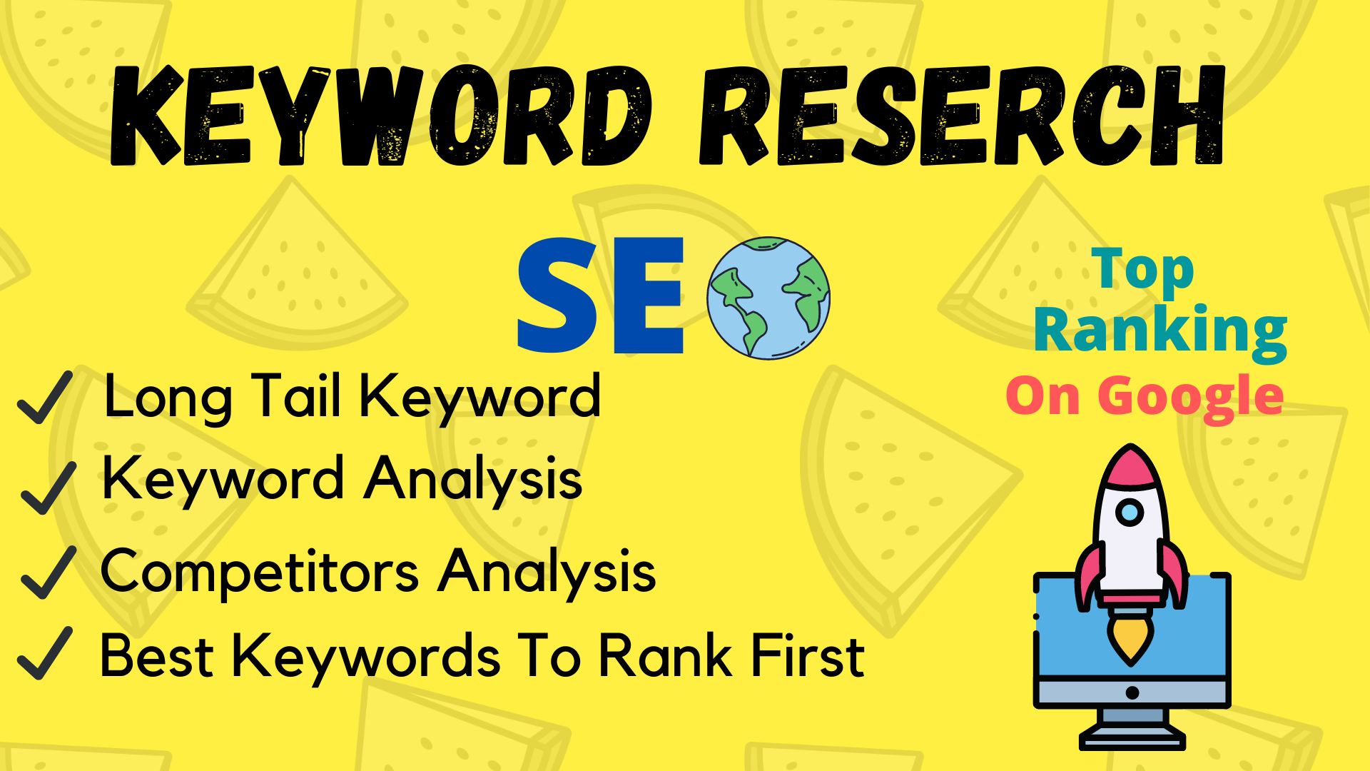I will do keyword research for on page SEO