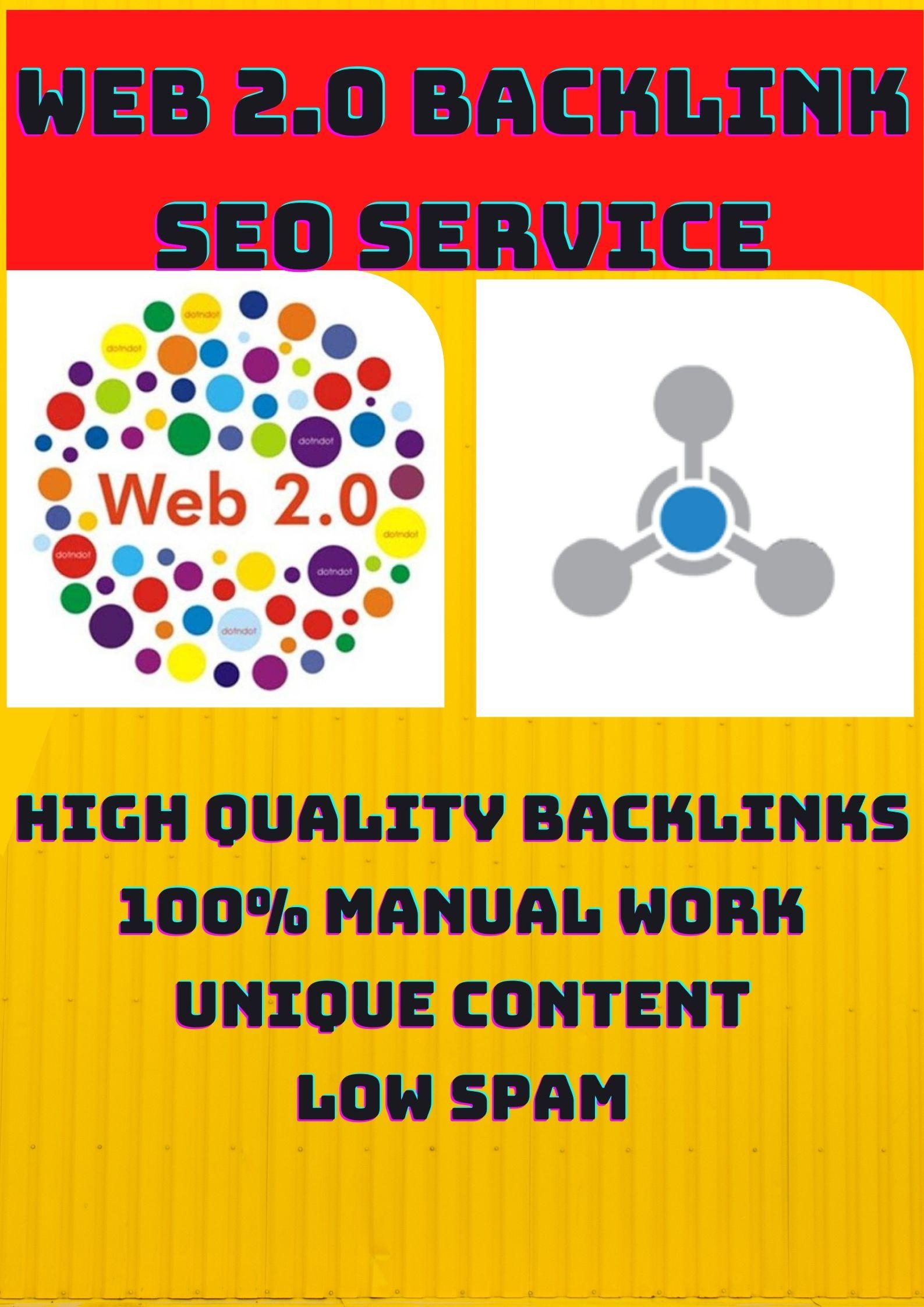 I create High Quality Web2.0 sub-domain Blogs with proper image