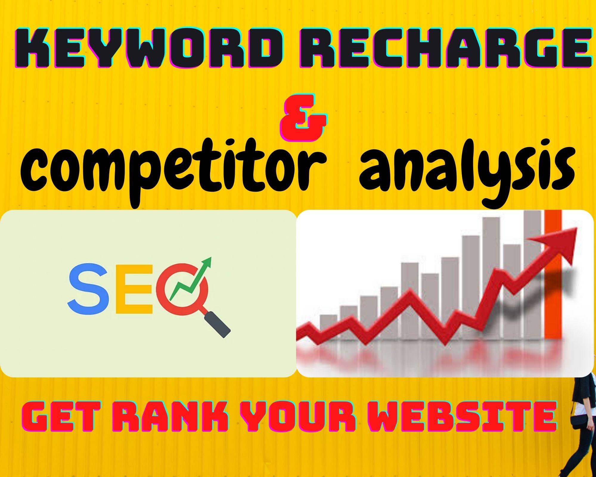 High quality SEO organic keyword research & competitor analysis