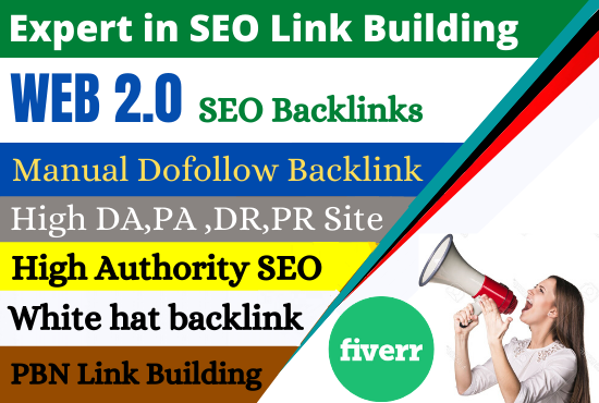 I will do high DA PA do follow contextual SEO backlinks